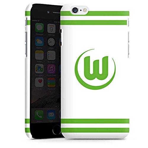 Apple iPhone X Silikon Hülle Case Schutzhülle Vfl Wolfsburg Fanartikel Wölfe Fußball Premium Case matt