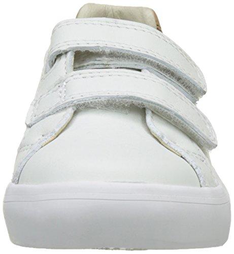 Clarks - Brill Rap Inf, Scarpe da ginnastica Bambino Bianco (White)