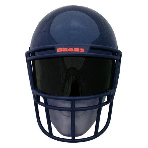 Nfl Kostüme (NFL Gear Helmet Style Fan Mask: Chicago)