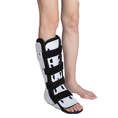 Wgwioo Pie de Bota para Caminar soporta el Apoyo Adulto para fracturas de esguince,Right