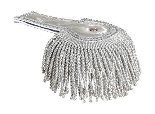 Orlob spalline generale argento set pz.2