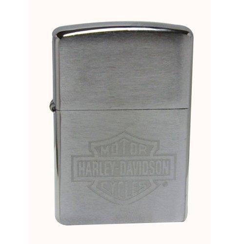 zippo-harley-davidson-engraved-logo-lighter-1-2-mechero-color-cromo-cepillado