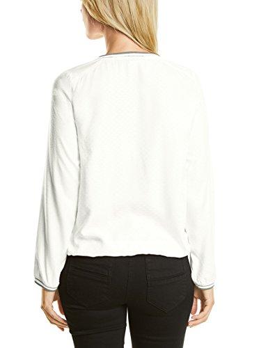 CECIL Damen Bluse Weiß (Pure Off White 20125)