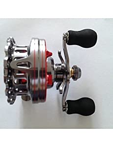 ZQ ZM60 R ZM60 R 2.6:1 6+1 Ball Bearings Bait Casting/Boat Fishing/General Fishing Baitcast Reels Right-handed by Textiles/Home
