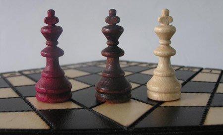 ChessEbook-Schachspiel-fr-Drei-32-x-28-cm-Holz