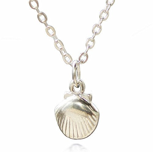 adecco-llc-silver-sea-shell-necklace-mermaid-valentine-necklace-beach-pandent-nautical-jewelry-by-ad