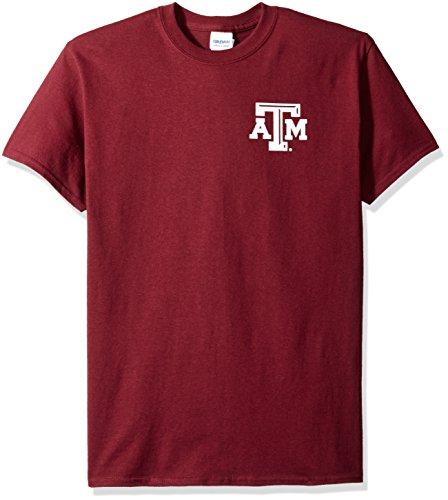 New World Grafiken Texas A & M NCAA Floral Short Sleeve, Unisex, Texas A&M Floral, kastanienbraun Texas A&m University Atm