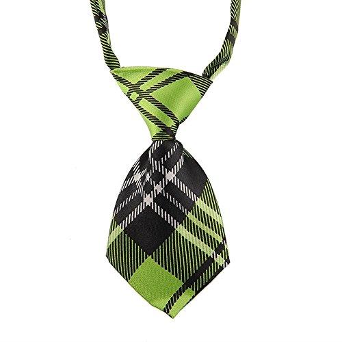 eyesonme EOM Verstellbare Fliege für Hunde, Katzen, Welpen, Krawatte - ideal für Hochzeiten, Party-Zubehör (Blau Karierte Party Supplies)