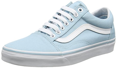 Vans Ua Old Skool, Sneakers Basses Femme Bleu (Crystal Blue/true White)