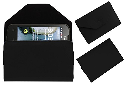 Acm Premium Pouch Case For Lenovo A690 Flip Flap Cover Holder Black  available at amazon for Rs.179