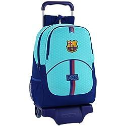 Mochila FC Barcelona 2ª Equipación con Carro