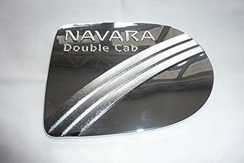 Nissan Navara D40 (2007+) Chrome Fuel Petrol Tank Cover