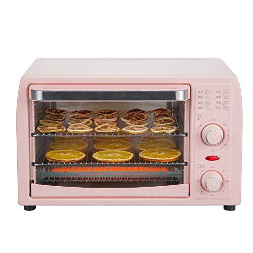 Bcxgs forno elettrico et mini fornetto, forno elettrico multifunzione con controllo della temperatura 30-230°c e tempistica di 60 minuti, per cuocere al forno, frutta secca e pizza