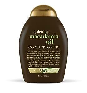 Organix Revitalisant hydratant à base d'huile de noix de macadamia - Extraits de canne à sucre et de bambou - 385 ml