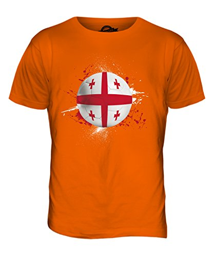 CandyMix Georgien Fußball Herren T Shirt Orange