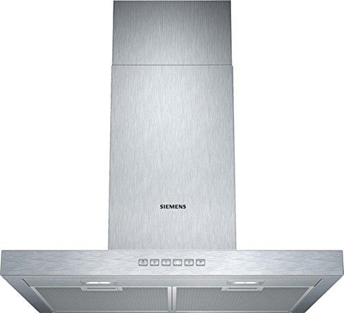 Siemens LC67BC532 iQ300 Wandhaube / 60 cm / Arbeitsplatzbeleuchtung mit 2x 3 W LED-Modulen / Box-Esse 45 mm / edelstahl
