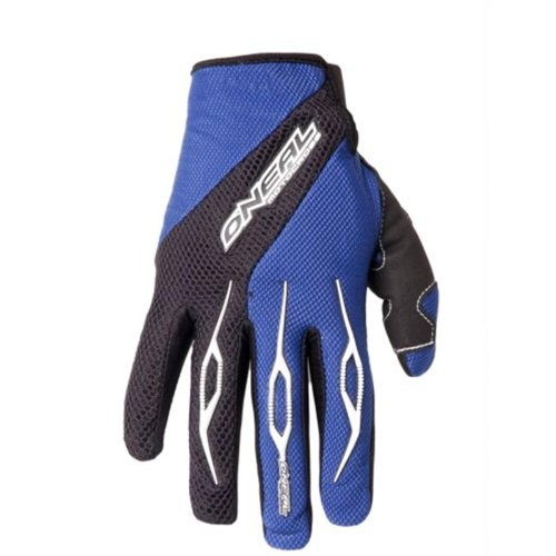 O'Neal Element Handsschuhe RACEWEAR blau schwarz Moto Cross Downhill Enduro Gloves, 0398R, Größe Large