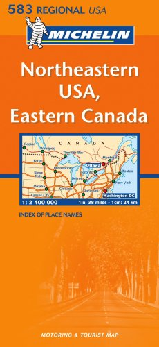 Northeastern USA, Eastern Canada