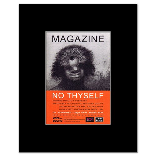MAGAZINE - No Thyself Matted Mini Poster - 13.5x10cm (Magazine No Thyself)
