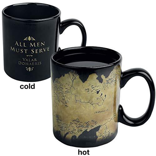 Game Of Thrones Juego Tronos Taza Efecto térmico