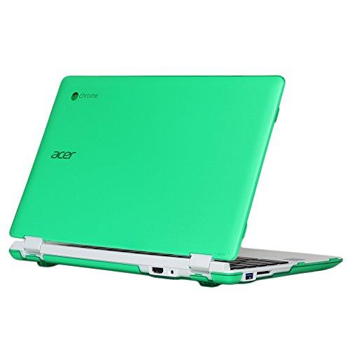 mcover-leggero-custodia-rigida-solo-per-acer-116-pollici-chromebook-modello-cb3-111-verde