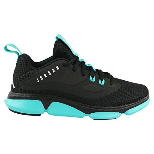 Nike Jordan Impact TR (GS) Sneaker Turnschuhe Schuhe für Kinder Schwarz (Black/White/Hyperjade/Anthracite)