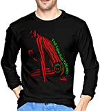 Photo de A Tribe Called Quest Men's Comfort Soft Long Sleeve Outdoor T Shirt 100% Cotton Printing T-Shirts Tee Black par aiGosry