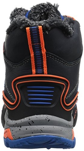 Jambu Baltoro Cuir Botte de Neige Navy-Orange