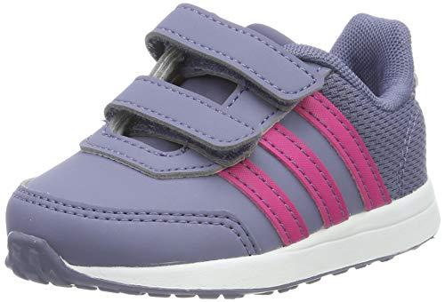 Adidas vs switch 2 cmf inf, sneaker unisex-bimbi, blu (raw indigo/real magenta/true pink 0), 20 eu