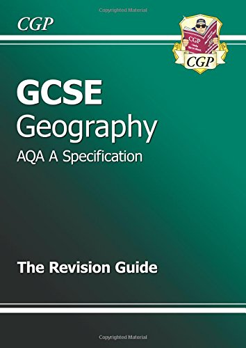 GCSE Geography AQA A Revision Guide (A*-G Course) Cover Image