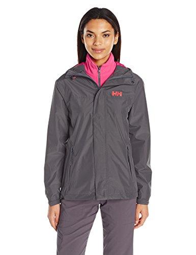 Helly Hansen Damen W HUSTAD CIS Jacket Jacke, Charcoal, XL -