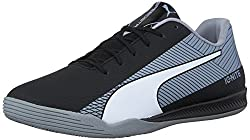 PUMA Men s Evospeed Star S Ignite Soccer Shoe Puma Black Puma White 1