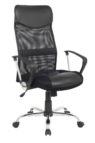 SixBros. Design - Sillón de oficina Silla de oficina Silla giratoria negro - 139PM/1319