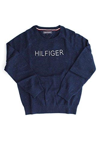 Tommy Hilfiger Hilfiger Neppy Cn Sweater L/S, Suéter para Niños Tommy Hilfiger