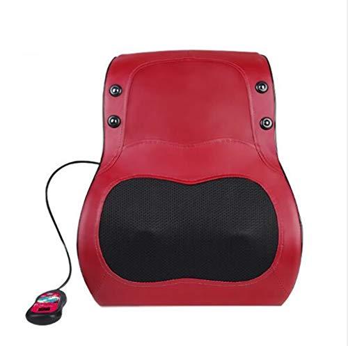 Taille Massagegerät Massage Pad Taille Rücken Körper Multi-Funktion Kneten 16 Massagekopf, automatische Heizung Vibration Massage Kissen Kissen Auto Dual-Use -