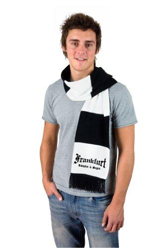 Frankfurt Ultras Fan Schal retro Balkenschal kämpfen & siegen (Loom Schal)