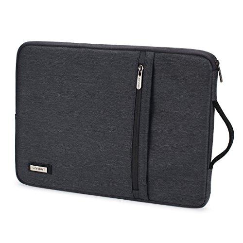 LONMEN Wasserdichte Laptoptasche 14 Zoll Verdicken Laptophülle Kratzschut mit Griff Tasche Wasserdicht Stoßfest Geeignet für 14