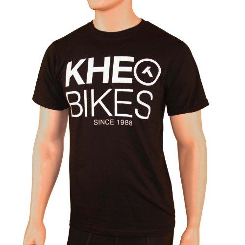 KHE Bikes 1988T-Shirt, Herren, schwarz (Flatland-bmx Bikes)