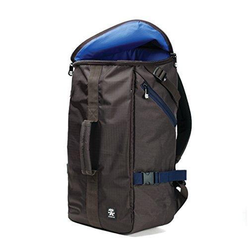 Crumpler Track Jack Barrel Backpack TJBRBP-003 Reise 15 Zoll Laptop- und 9.7 Zoll Tablet-Fach Rucksack, 28 Liter, Dunkelbraun