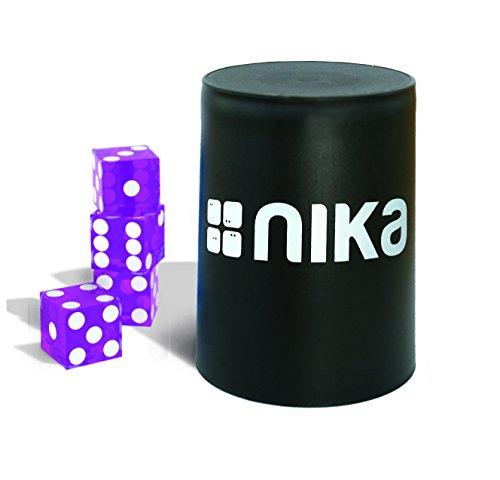 nika Dice Stacking Basic Set Purple - Stacking-würfel