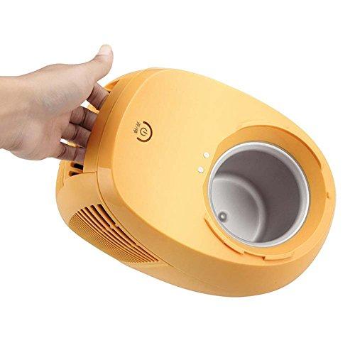 Haus Automatische Eismaschine DIY Eis Maschine Automatische Kühlung Fruchtshake Maschine,Orange