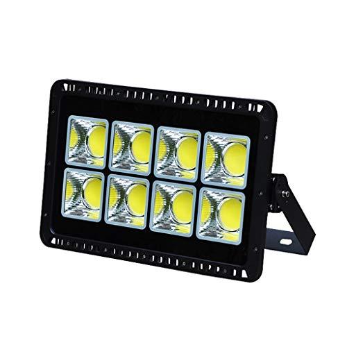 LED Flutlichtstrahler Flutlicht Wasserdichtes Scheinwerferlicht Im Freien Für Sicherheitslampe IP65 Flutlicht WKZ (Farbe : Weißes Licht-400W)