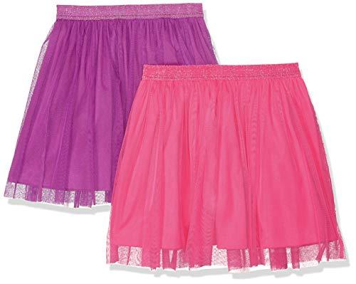 Amazon-Marke: Spotted Zebra Mädchen Tutu-Röckchen, 2er-Pack, Pink/Purple, US 3T (EU 98-104)