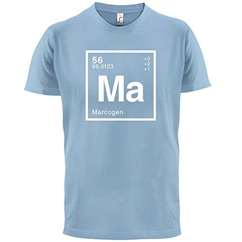 Marco Periodensystem - Herren T-Shirt - 13 Farben Himmelblau