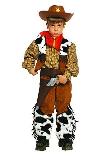 (Unbekannt Stamco - Cowboy Kostüm für Kinder (Größe 6))