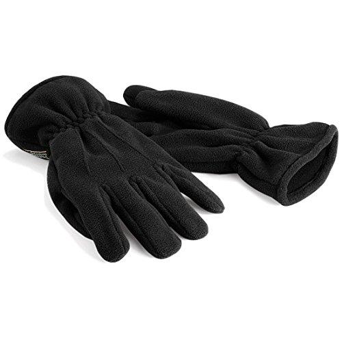 Preisvergleich Produktbild Shirt-Instyle Basics Suprafleece™ Thinsulate™ Gloves,  Handschuhe,  Fleecehandschuhe,  Farbe Black,  Größe S / M