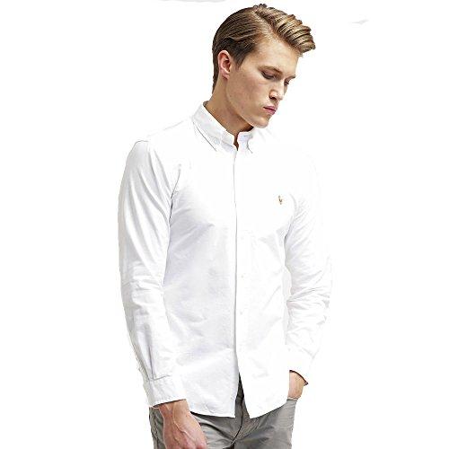 Ralph lauren - camicie classic oxford (l, bianco)