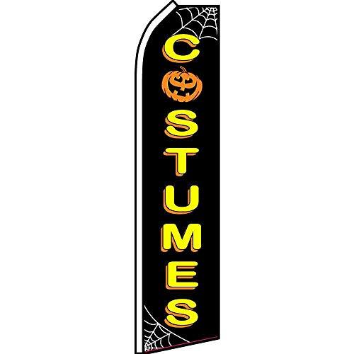 Best Flags Halloween-Kostüme Super Business Werbung, Mehrfarbig (Halloween Kostüme Von Werbung)