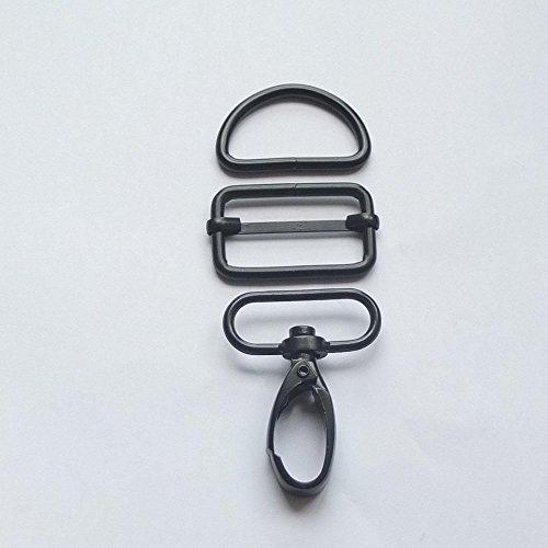 1 25mm Negro 3//4/1 1.5/2 3//8/ 5//8 micoshop 100/pcs Azul Triglides Diapositivas para Hebillas Correa de Piel cintur/ón cincha Negro 10/mm 15/mm 19/mm 25/mm