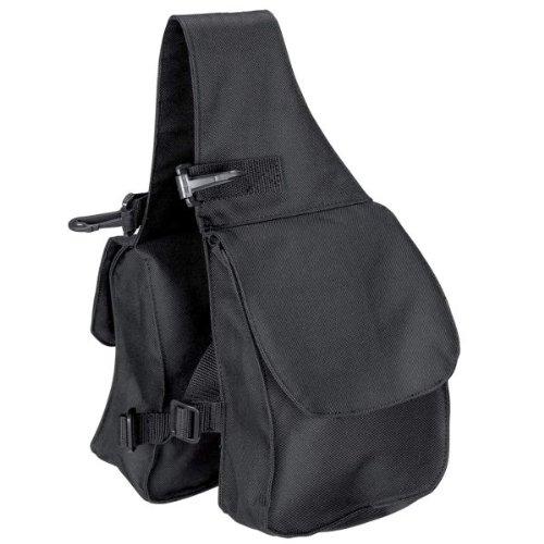Waldhausen Packtasche doppelt für vorne, schwarz